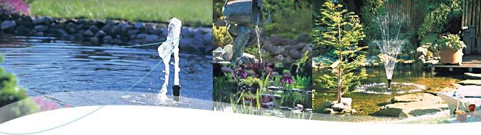 Fonteinpompen huis en tuin