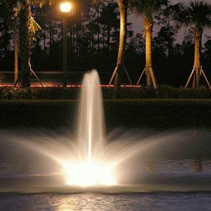 Crown en Geyser fontein kop